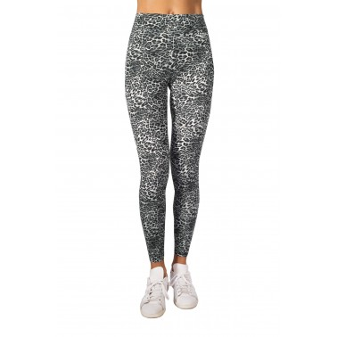 Leggings con elastico in vita