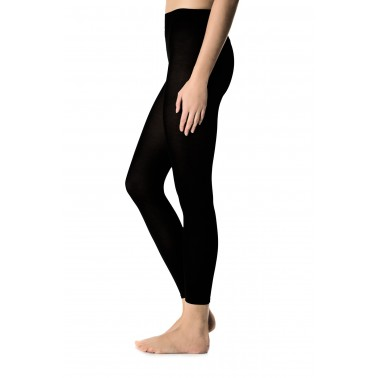 Leggings donna pile super...