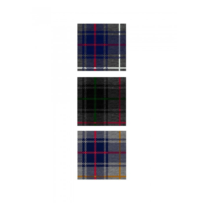 Calza bambino corta Scottish 3pack