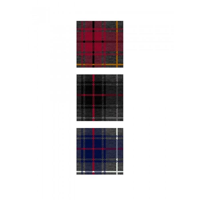Calza bambino corta Scottish 3pack